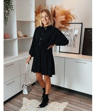 MELISSA DRESS - BLACK