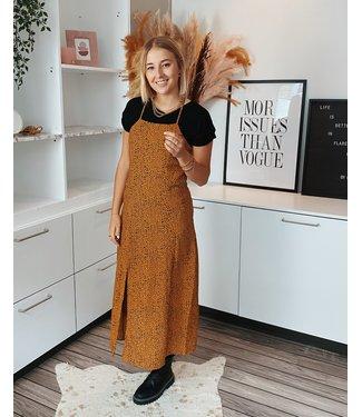 STELLA SLIP DRESS - YELLOW