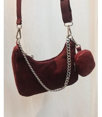 P-INSPIRED BAG - RED