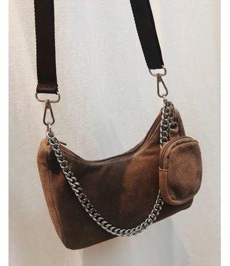 P-INSPIRED BAG - BEIGE
