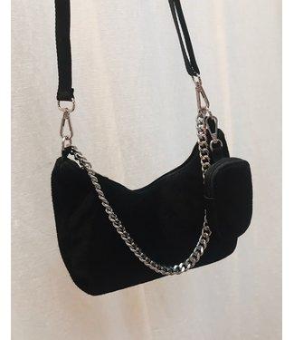 P-INSPIRED BAG - BLACK