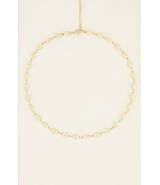 FLOWERS NECKLACE - GOLD