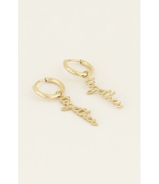 TOGETHER EARRINGS - GOLD