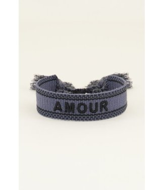 AMOUR BRACELET - GREY/BLUE
