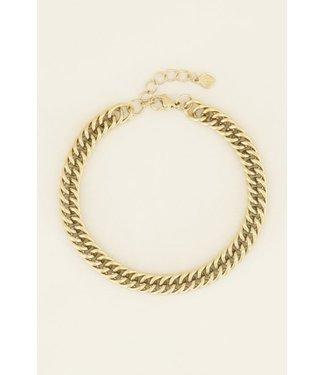 SIMPLE CHAIN BRACELET - GOLD