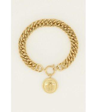 COIN BRACELET - GOLD