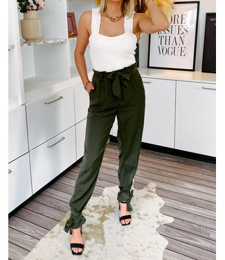 MAXINE PANT ARMY GREEN