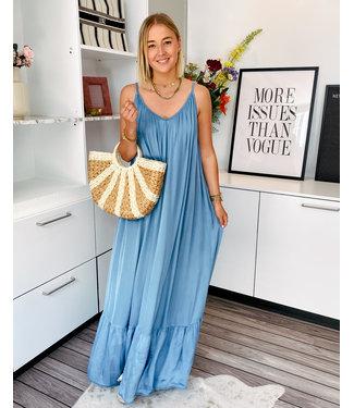 ESTELLE DRESS - BLUE