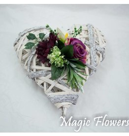 Magic Flowers Rieten hart