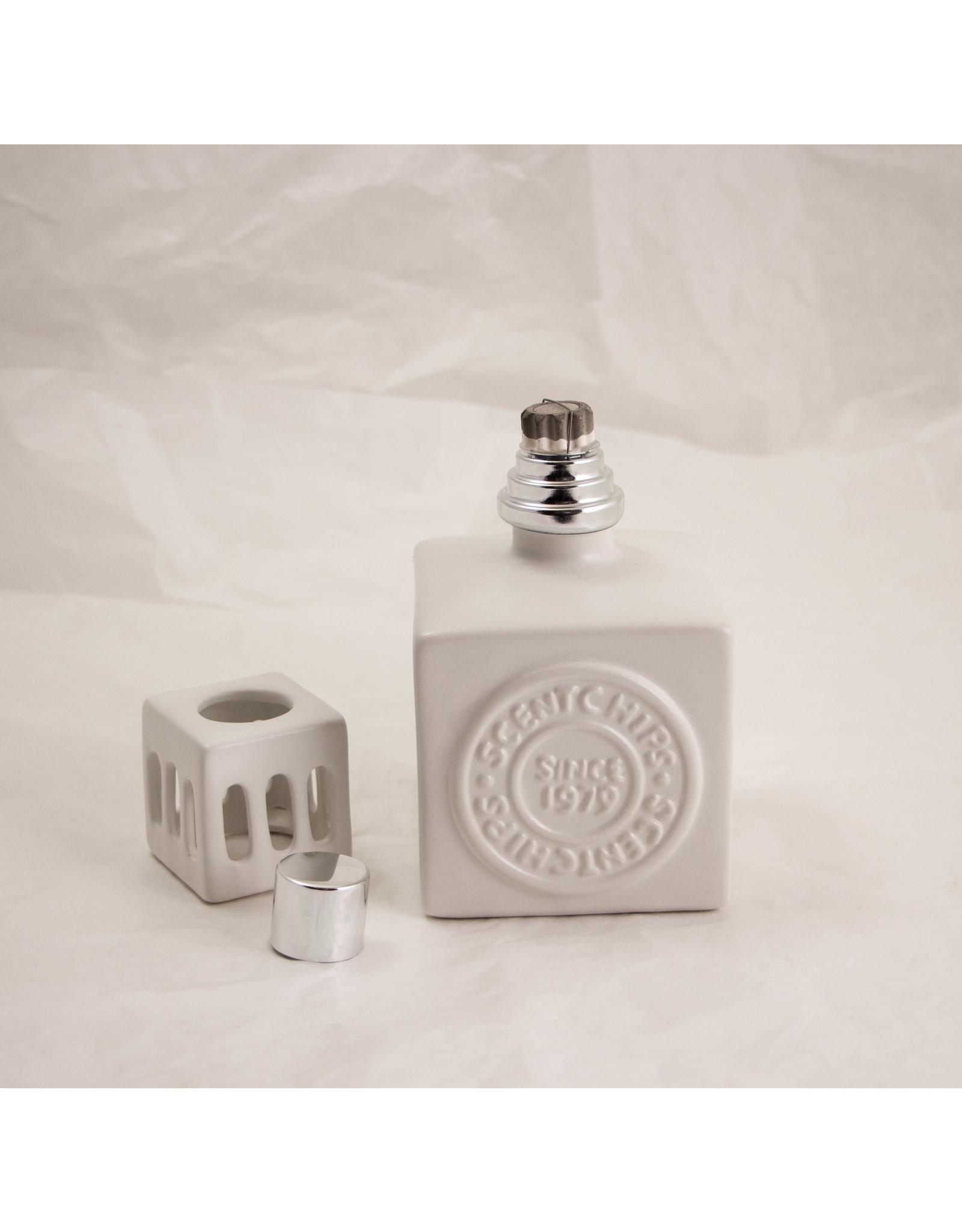 ScentChips Ceramic Square White H14cm