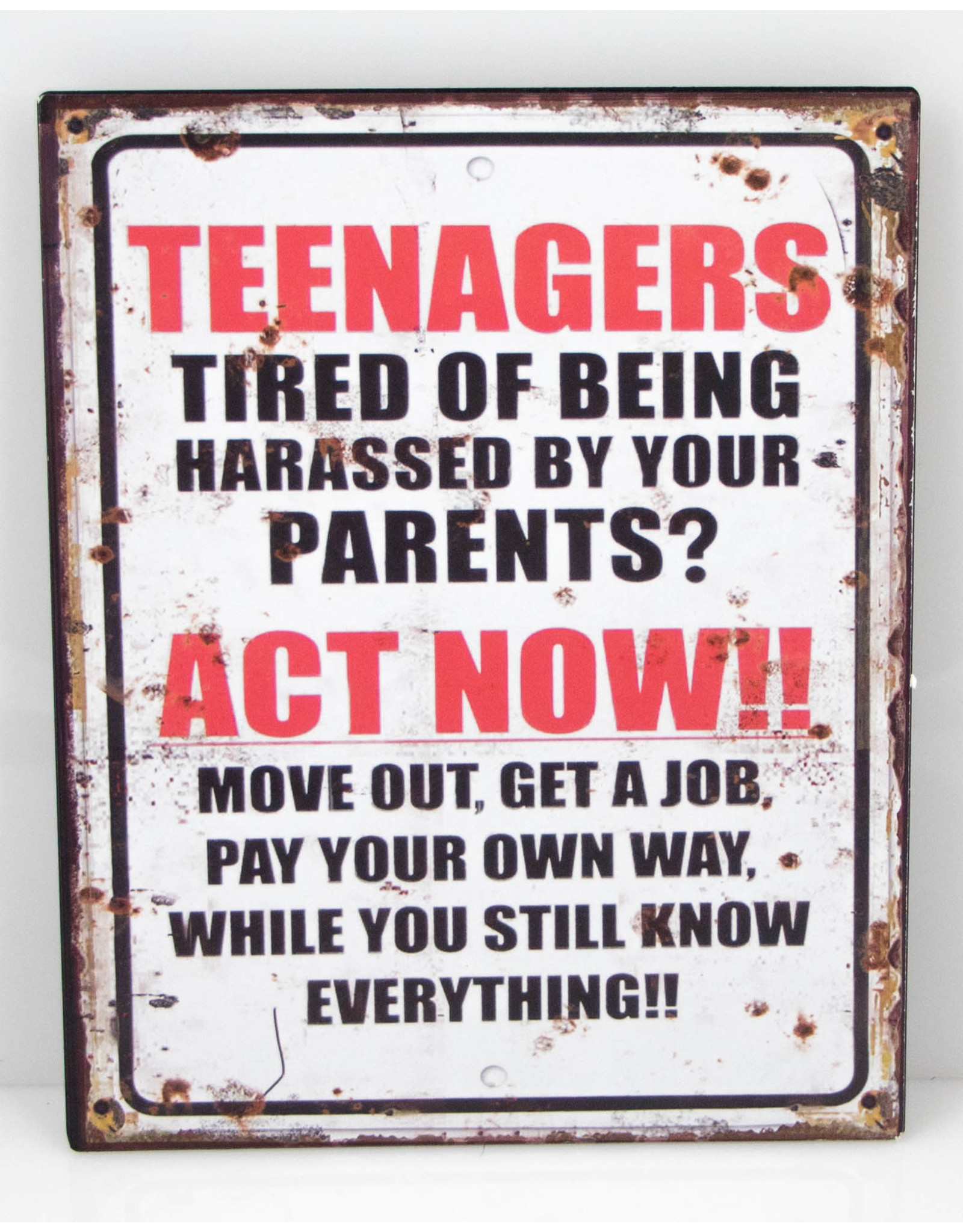 Teenagers act now