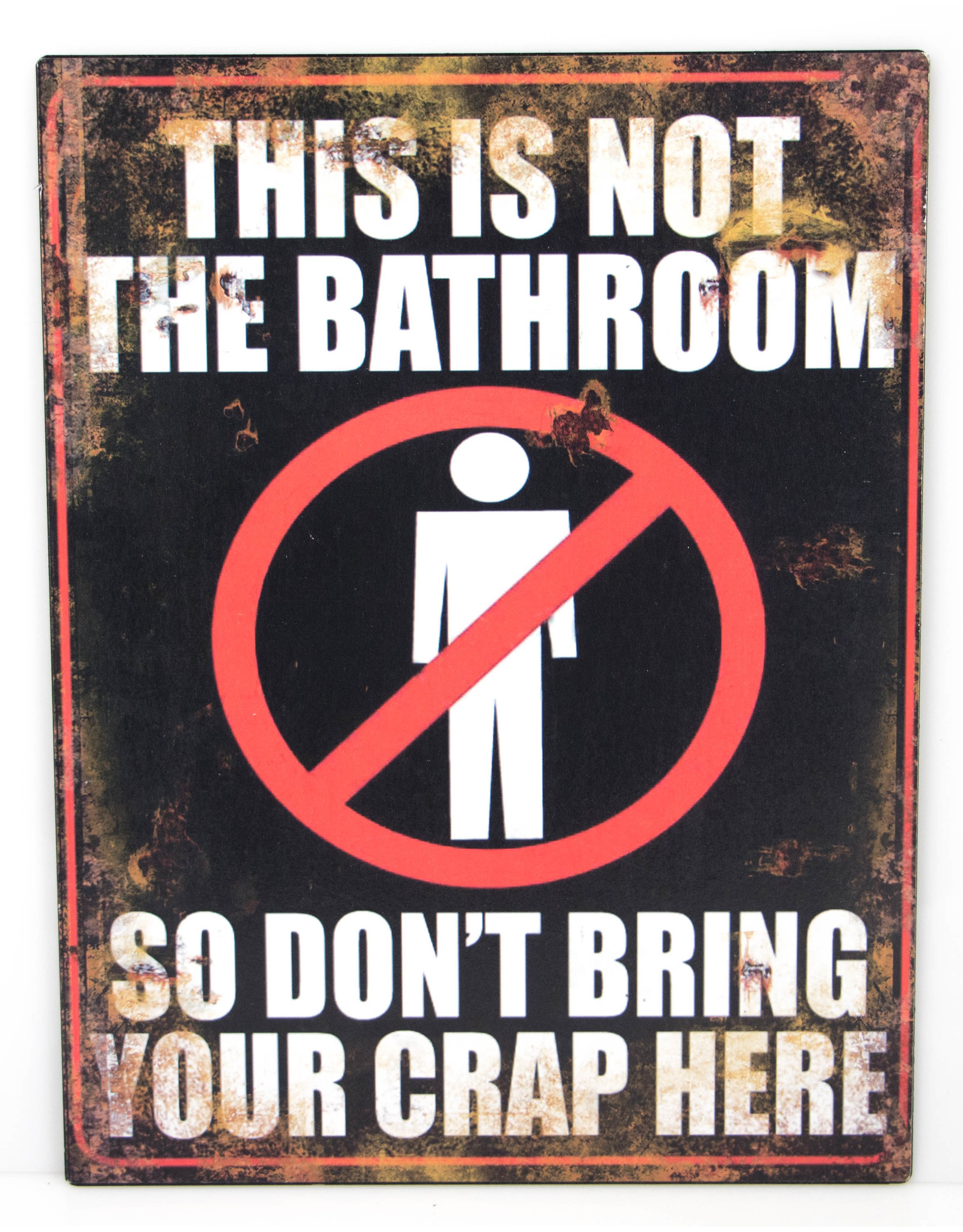 This is not the bathroom...