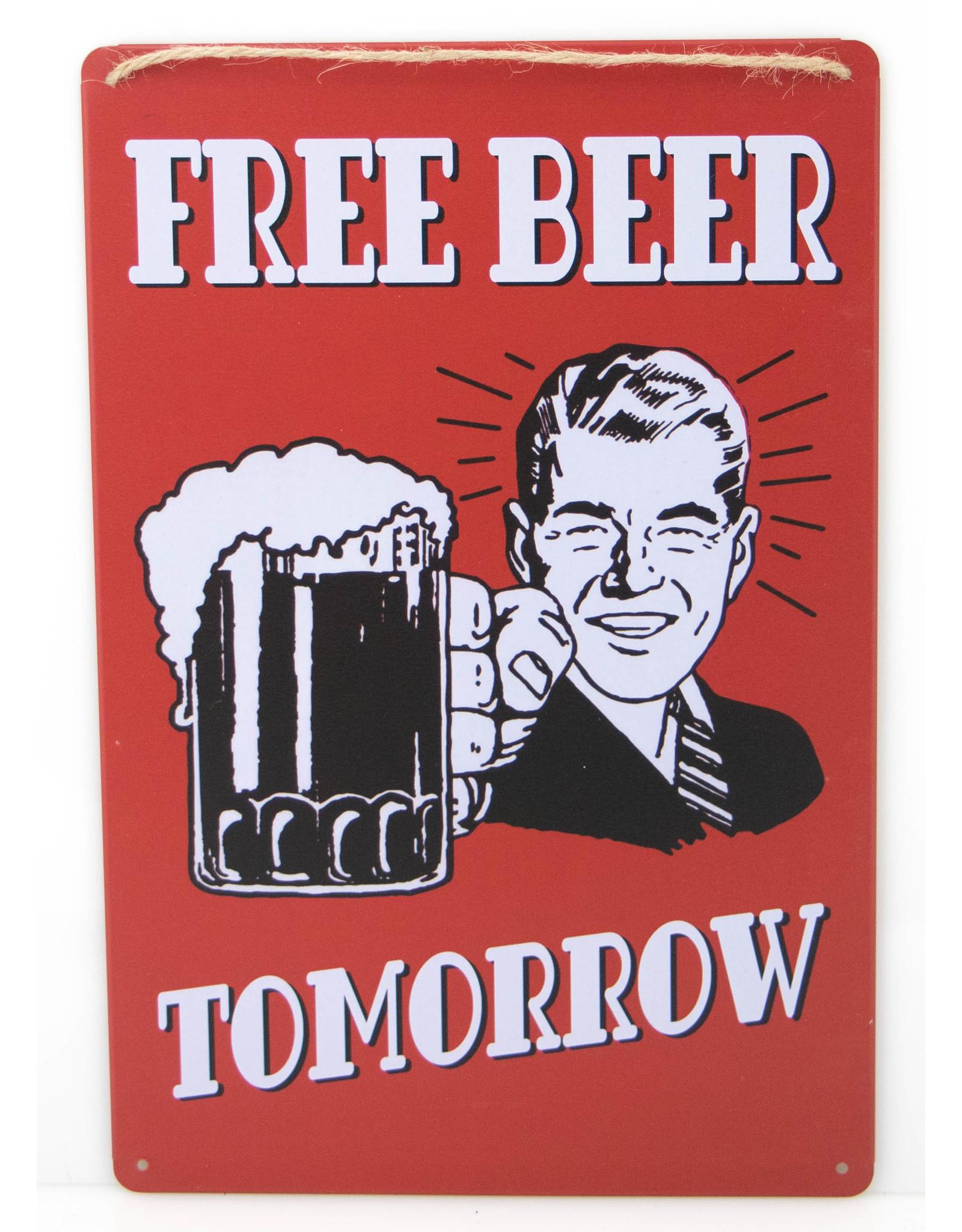 Free beer ... Tomorrow