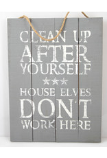 Clean up...