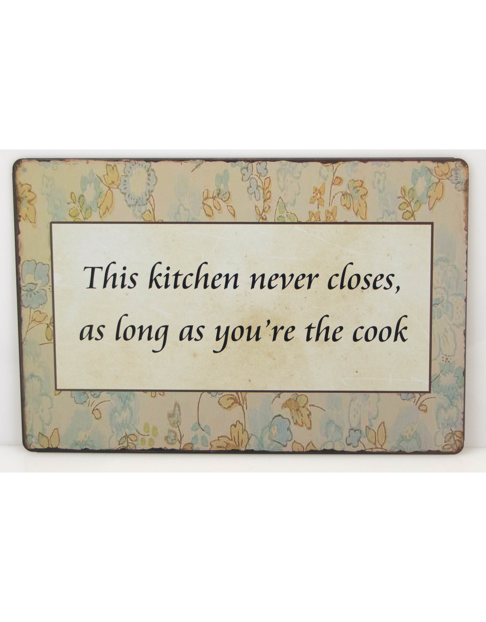 This kitchen never closes, as long as you're the cook