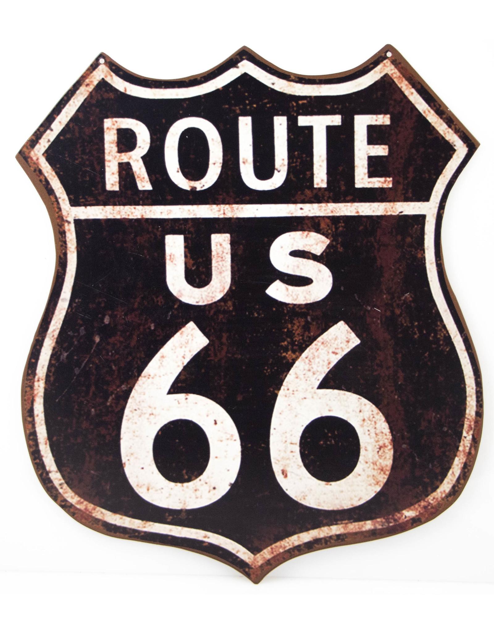 Route 66 (Shield black/white)