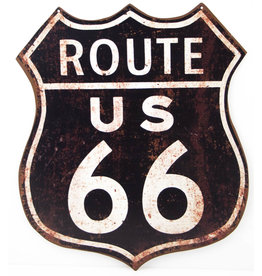 Route 66 (Shield black/white)