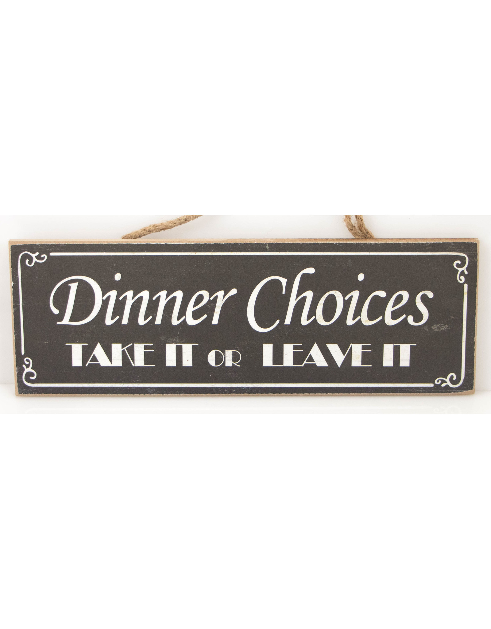 Diner choices : Take it or Leave it