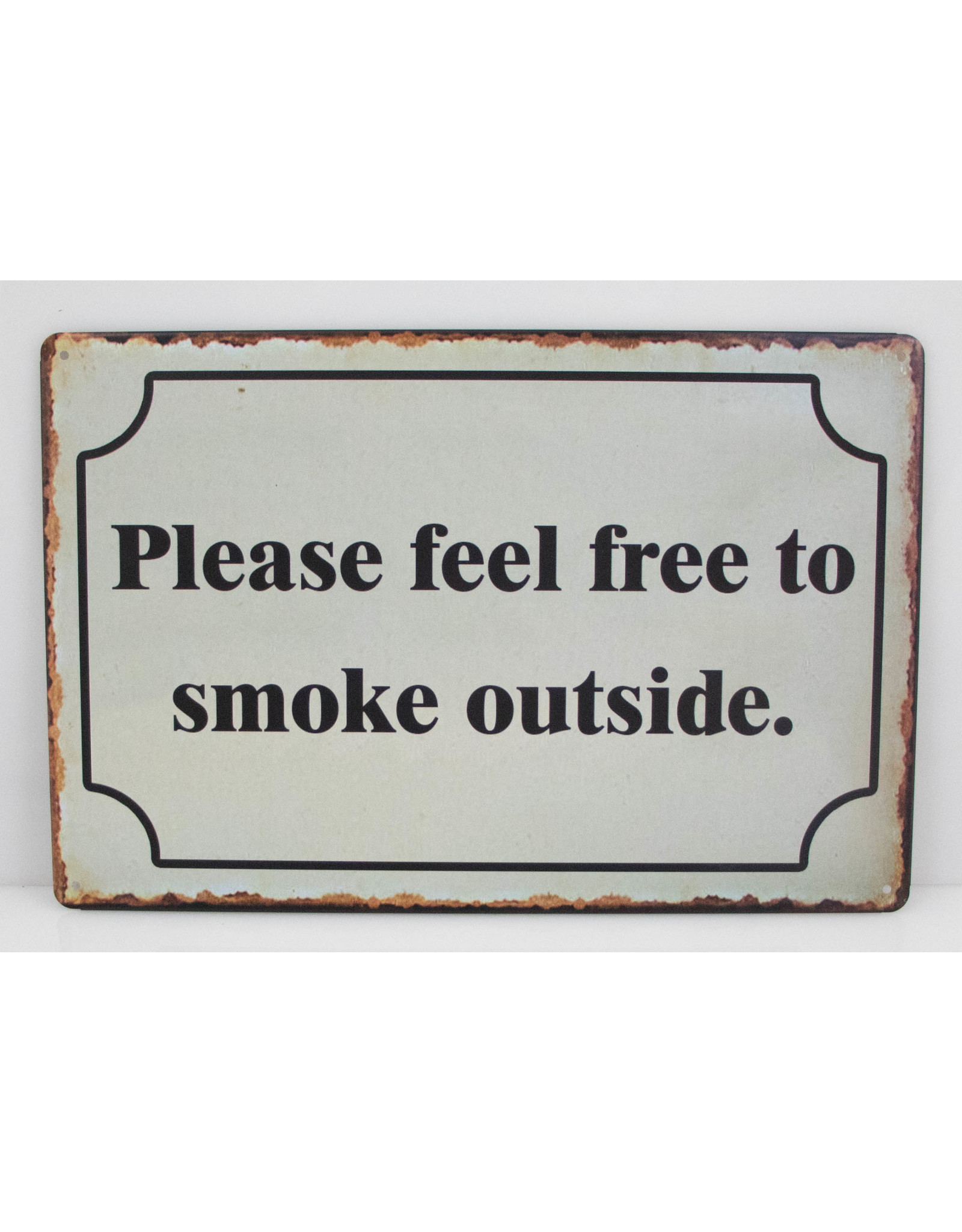 Please feel free to smoke