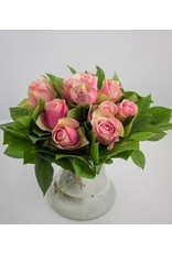 Magic Flowers Boeket 9 rozen - Roze - Mr&Mrs