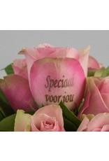 Magic Flowers Boeket 15 rozen - Roze - Speciaal voor jou
