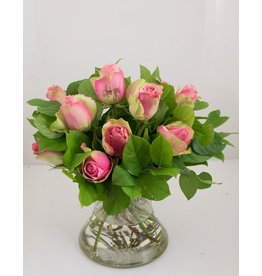 Magic Flowers Boeket 9 rozen - Roze - Love you