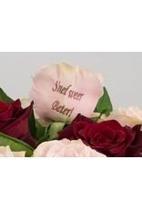 Magic Flowers Boeket 9 rozen - Rood/Roze - Snel weer beter