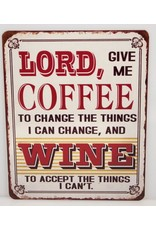 Lord give me coffee
