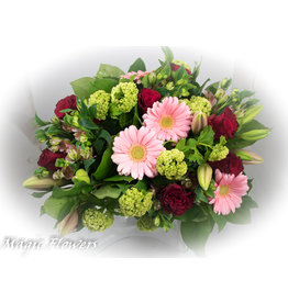 Magic Flowers Boeket Rood - Roze XL
