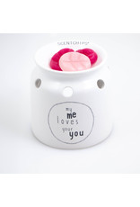 Scentburner Text My Me Loves Your You