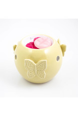 ScentBurner Bowl Butterfly Yellow