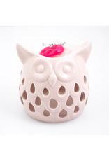 ScentBurner Owl Cut Out Pink