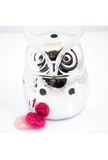 ScentBurner Owl Silver