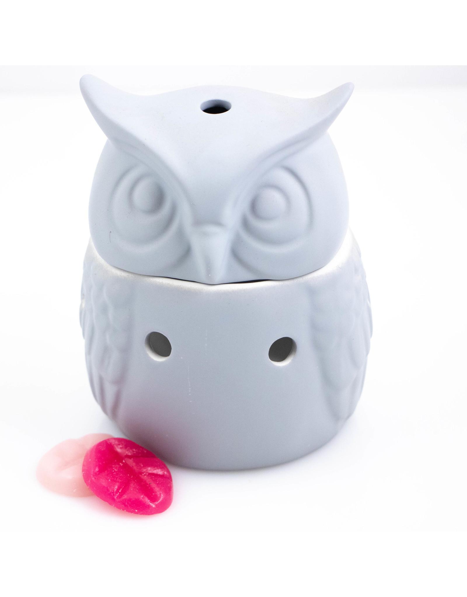 ScentBurner Owl Matt Grey