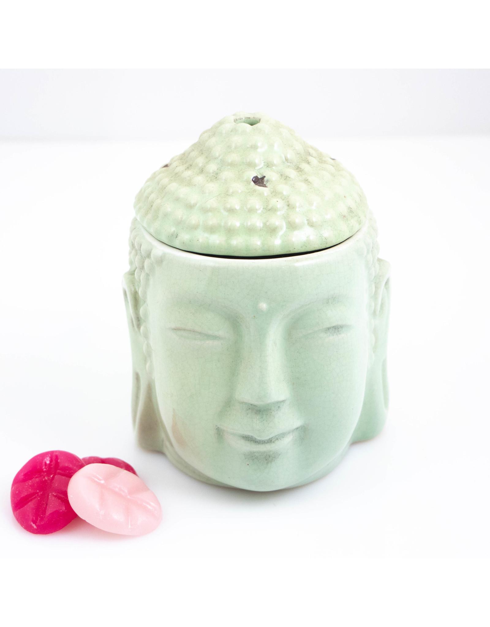 ScentBurner Buddha Head Olive