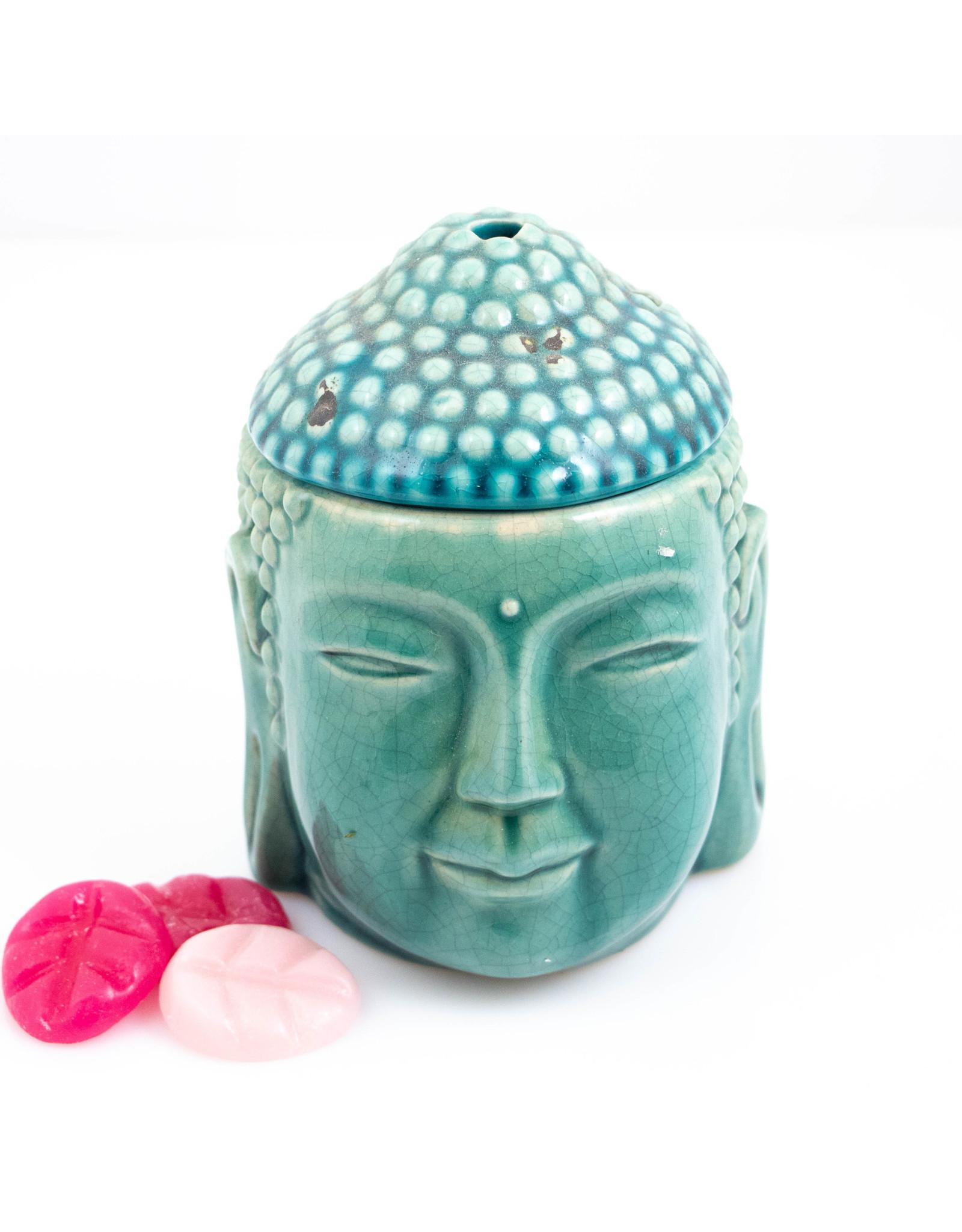 ScentBurner Buddha Head Turquoise