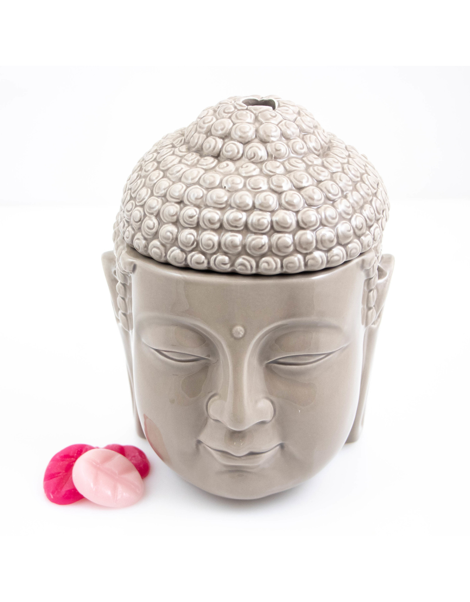 ScentBurner Buddha Head Taupe