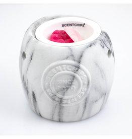 ScentBurner Logo Marble