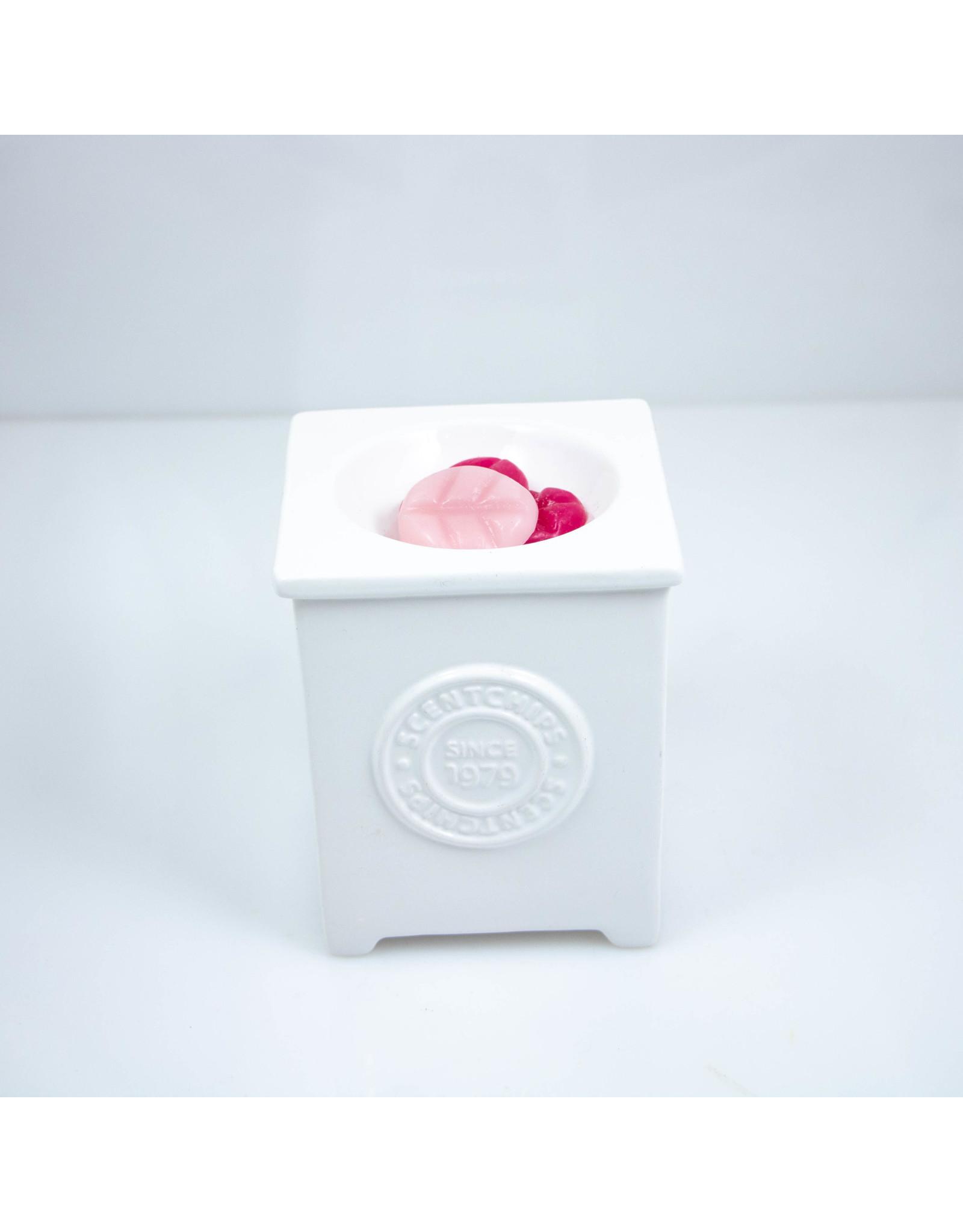 ScentBurner Logo Cube White