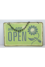 We are open/closed