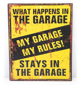 What happes in the garage