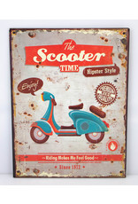 The scooter time
