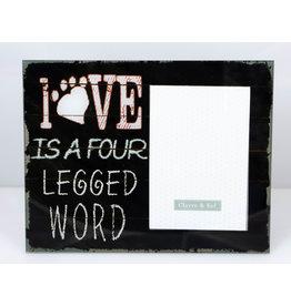 Love is a four word fotokader