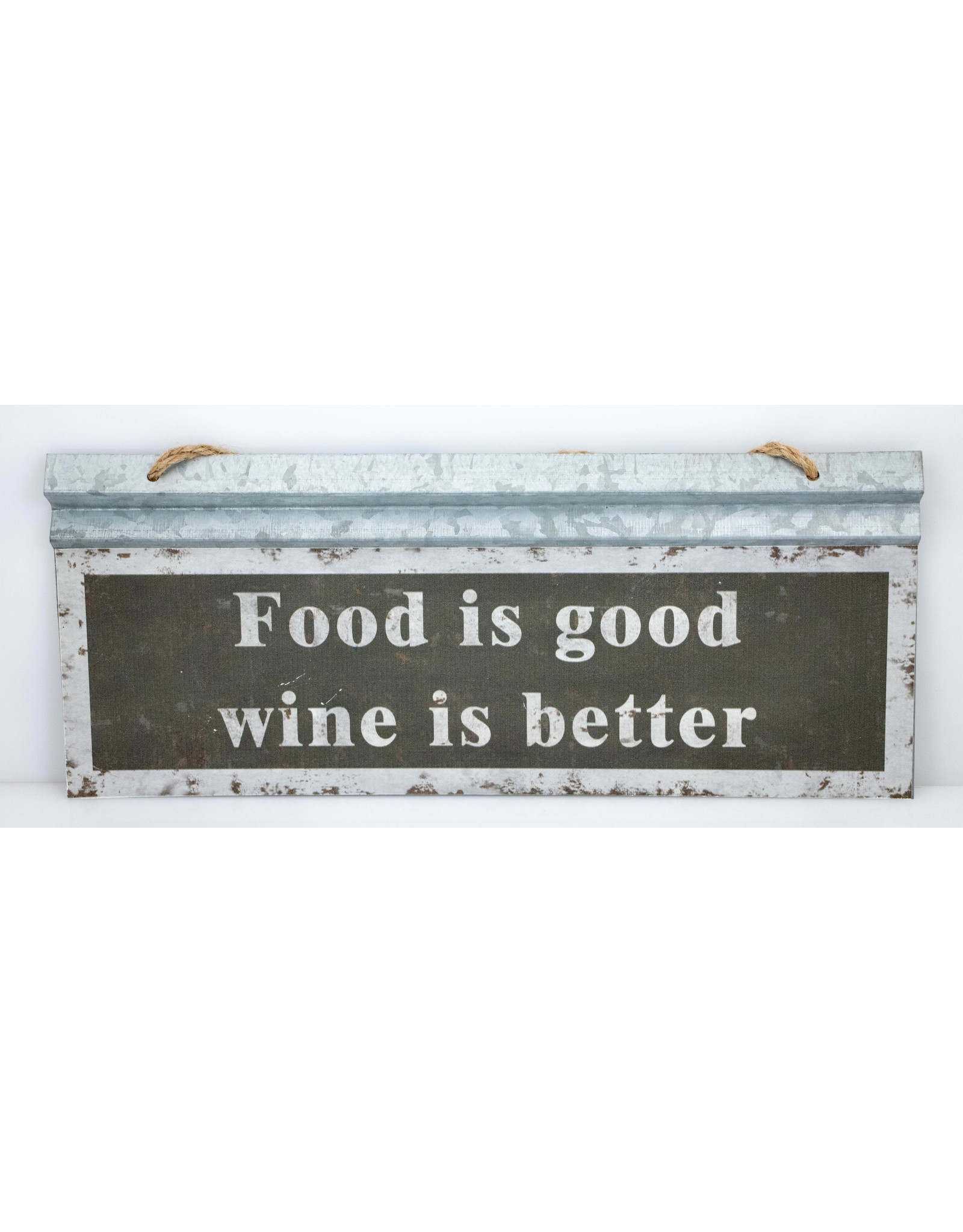 Food is good, wine is better