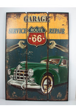 US Route 66 garage repair