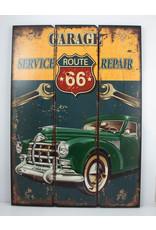 US Route 66 garage repair