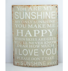 You are my sunshine happy