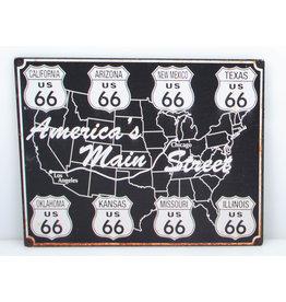 Route 66 America's main str.