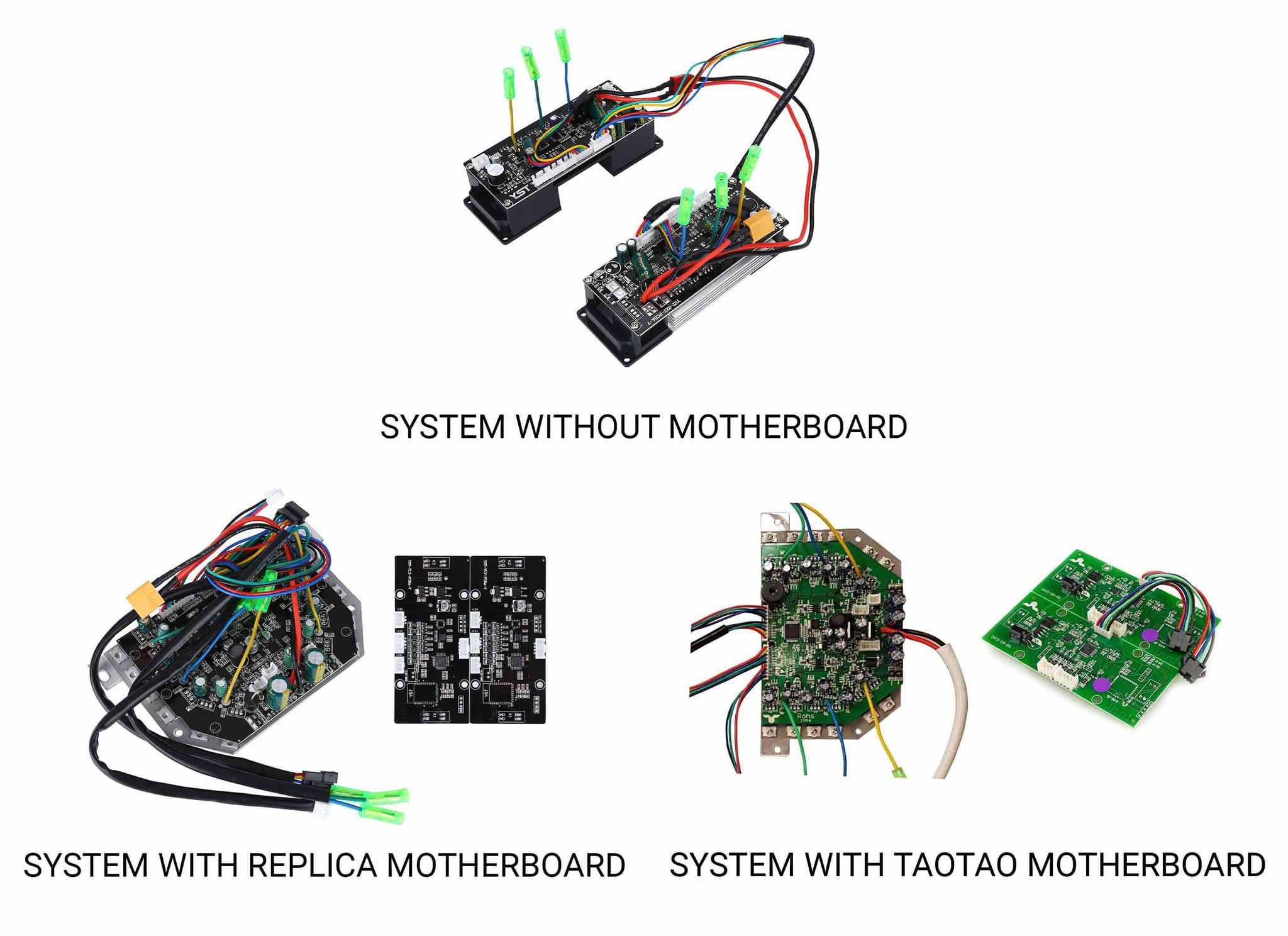 Hoverboard Buying Guide Voltes Different Types Of Circuit Boards The Best Quality Motherboard System Is From Taotao This Company Has Developed For And Original Producer