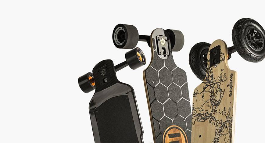 Het verschil tussen  Evolve Skateboards